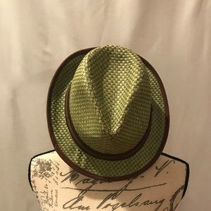 Goorin Bros Green and Brown Hat